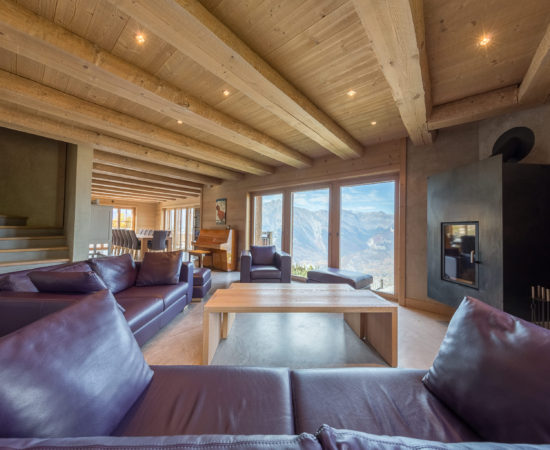 Living Room B - Chalet Altitude 1600