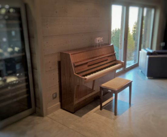 Piano Chalet Altitude 1600