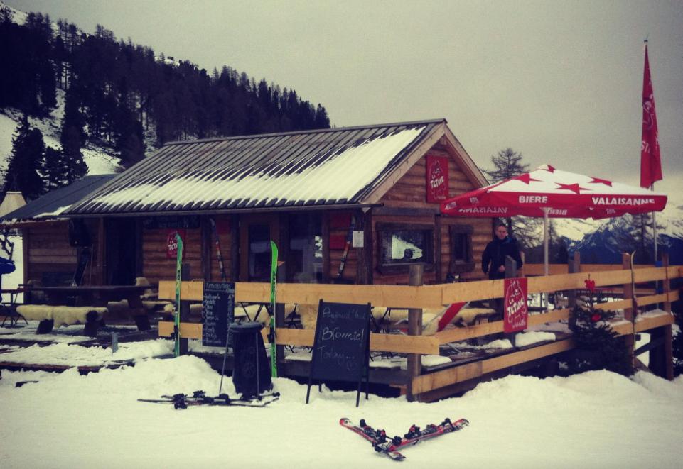 La Tetine - Nendaz Siviez Ski Bar